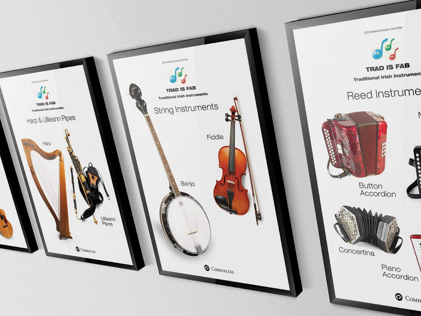 Comhaltas Trad is Fab Posters