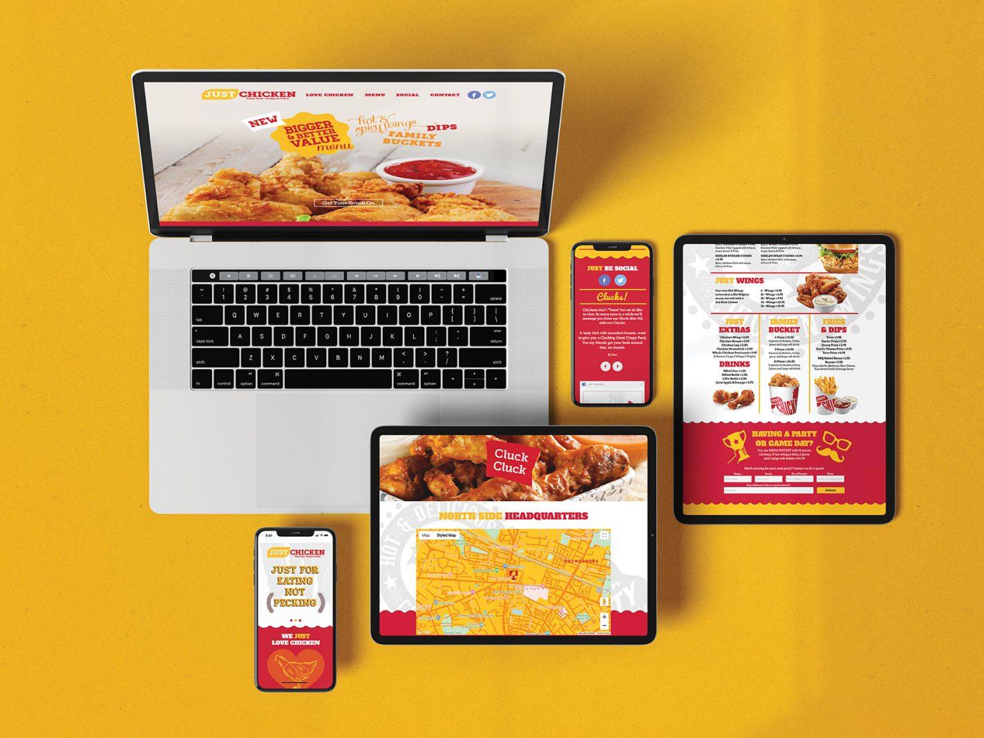 Just Chicken Website