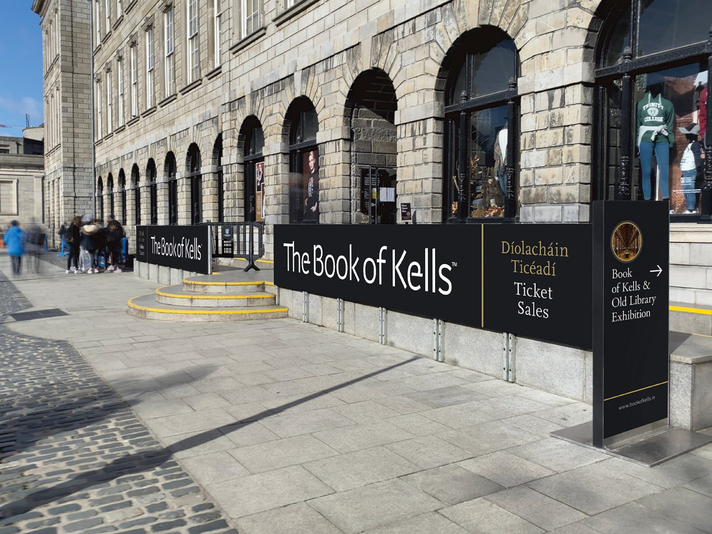 Trinity Book of Kells Exterior Outside